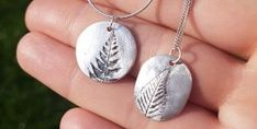 Silver Clay Workshop at The Make Studio in Hertfordshire Jewellery Making Courses, Jewelry Making, The Make, How To Make, Creative Workshop, Experience Gifts, Gift Vouchers, Haberdashery, Clay Jewelry