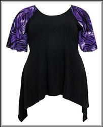 Shop at Kathys Curvy Corner for Trendy Plus Size Fashions including a large collection of shirts, tops and blouses for todays curvy woman