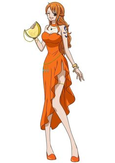 One Piece: Stampede is a stand-alone film that celebrates the anime's Anniversary and takes place outside the canon of the One Piece Manga, One Piece Nami, One Piece Fanart, Art Manga, Manga Girl, Anime Manga, One Piece Personaje Principal, Nami Swan, Cowboy Bebop Anime