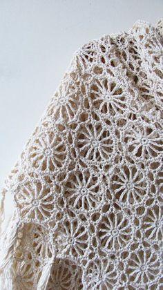 Solstice Shawl Crochet Pattern PDF