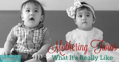 Mothering Twins What It's Really Like