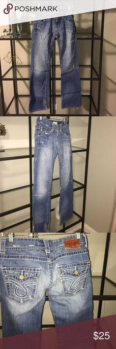 Big Star distressed jeans Big Star distressed jeans Big Star Jeans Boot Cut