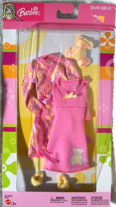 Fashion Avenue Barbie 2004 C4027 Diva Drive Pink Gown Robe NRFB | eBay