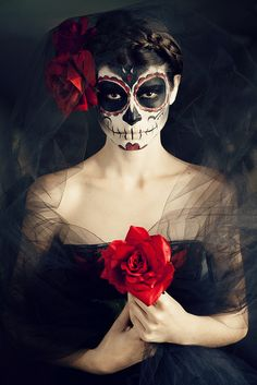 Day of the Dead | Flickr - Photo Sharing!  black dress