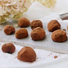 Vegan chokladtryfflar med avokado