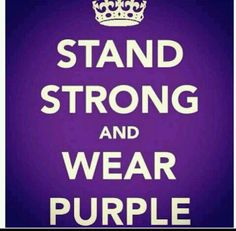 #crohns #purpleribbon