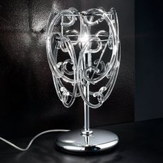 Murano-Glas Tischleuchte Gemini Jetzt bestellen unter: https://moebel.ladendirekt.de/lampen/tischleuchten/beistelltischlampen/?uid=d68e812f-8c5c-50f5-bf62-2575bb3ea679&utm_source=pinterest&utm_medium=pin&utm_campaign=boards #lampen #tischleuchten #beistelltischlampen Bild Quelle: www.lampenwelt.de