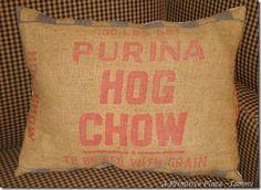 Burlap Coffee Bag Outstreched Hands Organic Dunn Bros Gunny Sack Coffee