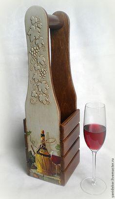 Купить или заказать Короб для вина декупаж Красное Вино в интернет-магазине на Ярмарке Мастеров. Короб для вина послужит прекрасным украшением Вашего праздничного стола или станет уникальным подарком на день рождения или любой другой праздник. Короб декорирован в технике декупаж, украшен объемным узором в виде виноградной лозы, деликтно состарен. Если Вам понравились мои работы, и Вы хотите первыми узнавать о новинках моего магазина – нажмите с левой стороны кнопочку «Добавить в круг».…
