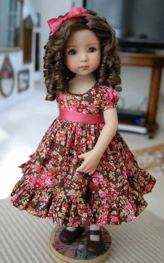Dress for doll Little Darling, Blythe, Paola Reina by BoosinkaNK – Page 475622410646750928 – BuzzTMZ Sewing Doll Clothes, American Doll Clothes, Girl Doll Clothes, Doll Clothes Patterns, Sewing Dolls, Girl Dolls, Fashion Kids, Baby African Clothes, Cute Baby Dresses
