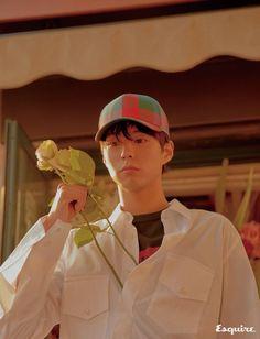 StyleKorea — Park Bo Gum for Esquire Korea March Korean Male Actors, Handsome Korean Actors, Asian Actors, Park Bo Gum Wallpaper, Dramas, Park Go Bum, Hate Men, Actors Images, Film Aesthetic
