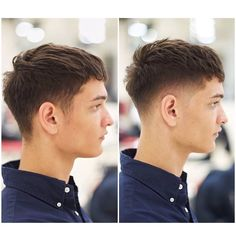 23 Best Textured Haircuts for Men In 2020 - Fashion For Man Textured Haircut, Fringe Haircut, Low Taper Fade Haircut, Mens Taper Fade, Asian Man Haircut, Haircut Men, Haircut Style, Korean Men Hairstyle, Trendy Mens Haircuts