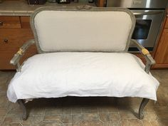 Settee Makeover: Making an Old Piece Look High-End