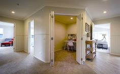 This G.J. Gardner home makes good use of interior space with a convenient study.