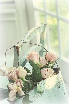 at the window by lucia and mapp, via Flickr #rose #pastel