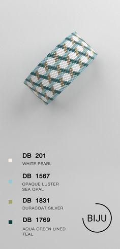 US$4.72 peyote bracelet pattern, peyote pattern, odd count, stitch pattern, pdf file, pdf pattern, #24BIJU