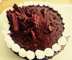 Chocolate cake- no butter cream
