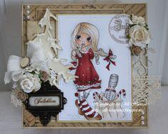 Jills scrappeside: Saturated Canary ~ Christmas Nutcracker ~Skin: E21-51-50 and E93 Hair: E55-53-51-50 Dress, red: T5, E19, E07 Dress, grey: T3-1-0 Box: E43-42-41