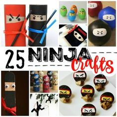 25 Stealthy Ninja Crafts for Kids