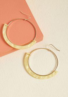 Happy Happenings Hoop Earrings