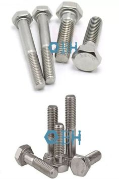 SS304 316 DIN 931 Half Thread ISO898-1 High Tensile Hex Bolt Stainless Steel Fasteners, Stainless Steel Bolts, Office Supplies