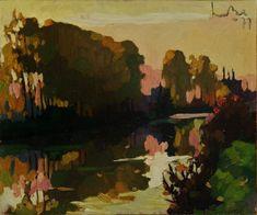 Canal at Breugel, Art - Landscape Abstract Landscape Painting, Landscape Paintings, Dutch Artists, Still Life, Woods, Autumn, Portrait, Artwork, Work Of Art