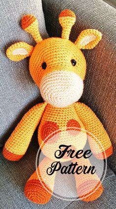 Patrón de amigurumi gratis de Ginnie the Giraffe - Página 4 de 5 - Patrones de amigurumi gratis, patrones de ganchillo amigurumi Source by marthacordo., Patrón de amigurumi gratis de Ginnie the Giraffe - Página 4 de 5 - Patrones de. Crochet Amigurumi Free Patterns, Crochet Animal Patterns, Stuffed Animal Patterns, Crochet Animals, Free Crochet, Knitting Patterns, Crochet Toys, Poncho Patterns, Crochet Vests