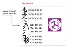 Símbolos para el cuaderno de Reiki