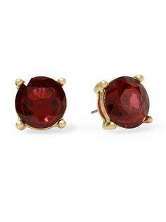 Pim & Larkin Solitaire Stud Earrings $16 @Piperlime