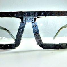Upcycled LEGO® Glasses  Black