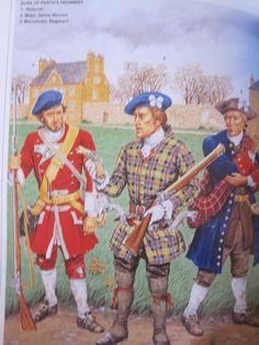 James Stewart of the Duke of Perth's Regiment Jacobite Rebellion) Scottish Clans, Scottish Highlands, Military Art, Military History, Highlands Warrior, Highlanders, 18th Century, Duke