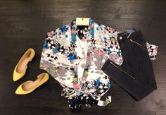 Look fresh and stylish this Wednesday in our oriental blossom kimono #MyPersonal stylist