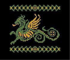 dragon cross-stitch - Google Search