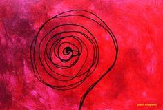 "Saatchi Art Artist Paul Megens; Painting, ""never stop asking"" #art"