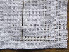 The Corner of the Folded Peahole Edging | Luzine Happel