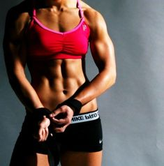 Muscular women are better than skinny ones - yes I am biased :)