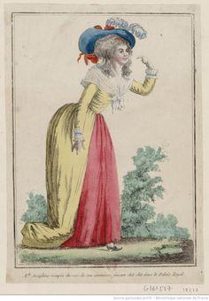 Titre : M.lle Josephine occupée du soin de son commerce, faisant chit chit dans le Palais Royal : [estampe] / [non identifié] Éditeur : [Basset] (Paris) Date d'édition : 1788