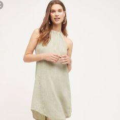 Sale! Anthropologie High-Tide Halter Dress