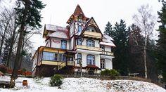 Pensjonat Roxana w Szklarskiej Porębie. Jedna z perełek architektonicznych miasta. http://www.roxana-szklarska.pl