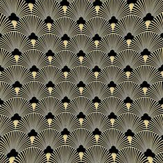 Low Budget Home Decoration Ideas Motifs Art Nouveau, Motif Art Deco, Art Deco Pattern, Art Deco Fabric, Wallpaper Art Deco, 1920s Art Deco, Art Deco Era, The Great Gatsby, Elegant Chic