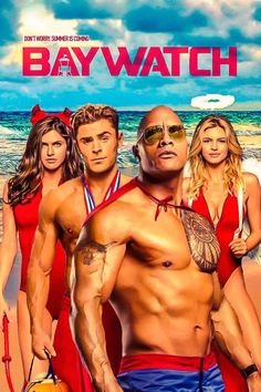 Baywatch is an upcoming American action-comedy film directed by Seth Gordon, based on the television series of the same name. The film star. Comedy Movies, Hd Movies, Movies Online, Movies Free, Latest Hollywood Movies, Latest Movies, Latest Comedy, Movies And Series, Movies And Tv Shows