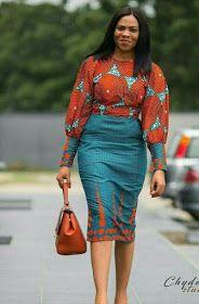 African Women's fashion & Ankara Skirt Great looking African Fashion women's clothing. womensfashionGreat looking African Fashion women's clothing. African Fashion Designers, Latest African Fashion Dresses, African Print Dresses, African Dresses For Women, African Print Fashion, Africa Fashion, African Attire, African Wear, African Women