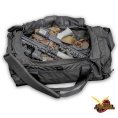 Tactical bag with RFID pocket.