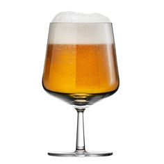 Iittala Essence beer glass, so elegant
