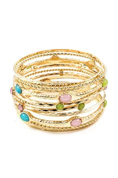 Dia Bangle Set on Emma Stine Limited