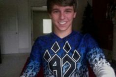 My boyfriends a world champion:) Male cheerleaders are faaaar from gay.. We can take such cute pictures due to his skills<3