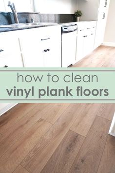 Cleaning Vinyl Plank Flooring, Vinyl Flooring, All Purpose Cleaners, Luxury Vinyl Plank, Organizing Ideas, Kitchen Cabinets, Money, Living Room, Tips