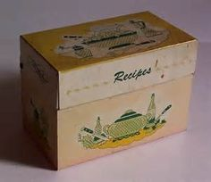 recipe box - Bing Images