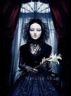 by Natalie Shau  This is also a C.D. cover for Femme Metal group Elysion