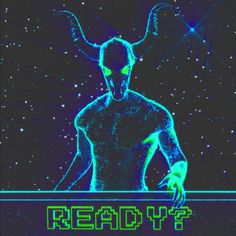 New GIF on Giphy added on : May 16 2020 at design trippy glitch space psychedelic stars neon digital future aesthetic bad dream vaporwave universe demon nightmare cosmos void horns Baphomet, Cyberpunk, Vaporwave Gif, Neon Aesthetic, Aesthetic Drawing, Gifs, Glitch Art, Retro Futurism, Dark Souls